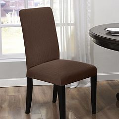 Kathy Ireland Santa Barbara Stretch Dining Room Chair Slipcover