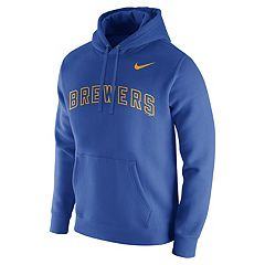 Men's Nike Milwaukee Brewers Wordmark Hoodie