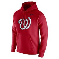 Men's Nike Washington Nationals Wordmark Hoodie