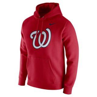 Men's Nike Washington Nationals Wordmark Hoodie