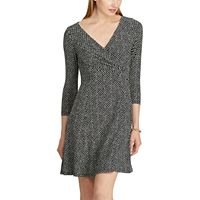 Women's Chaps Dot Fit & Flare Dress