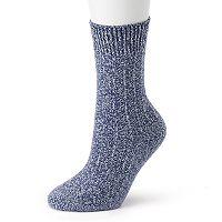 Women's Cuddl Duds Twist Crew Socks