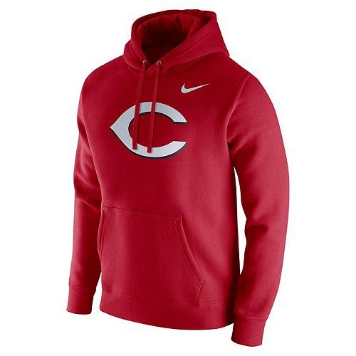 Men's Nike Cincinnati Reds Wordmark Hoodie