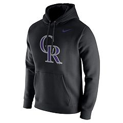 Men's Nike Colorado Rockies Wordmark Hoodie