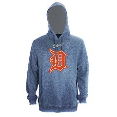 Men's Stitches Detroit Tigers Speckled Fleece Hoodie