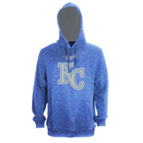 Men's Stitches Kansas City Royals Speckled Fleece Hoodie
