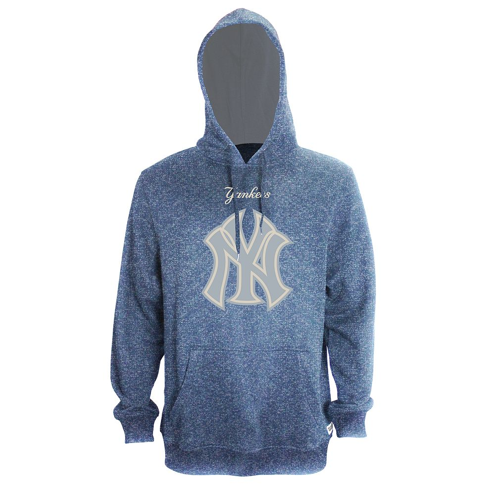 new concept 2555b c4f1f Men's Stitches New York Yankees Speckled Fleece Hoodie