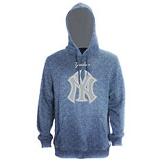 Men's Stitches New York Yankees Speckled Fleece Hoodie