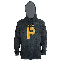 Men's Stitches Pittsburgh Pirates Speckled Fleece Hoodie