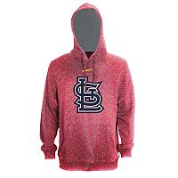 Men's Stitches St. Louis Cardinals Speckled Fleece Hoodie