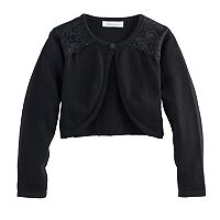 Girls 4-6x Bonnie Jean Lace Shoulder Shrug