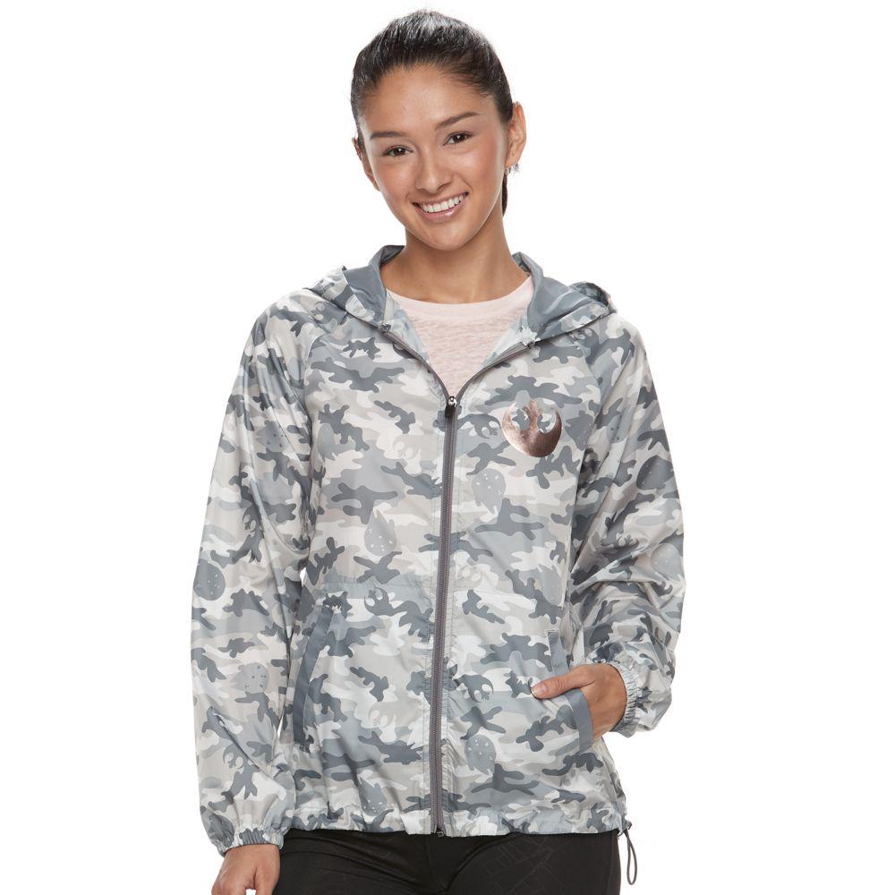Her Universe Star Wars Camo Windbreaker Jacket