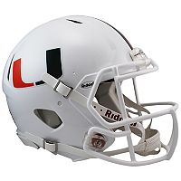 Riddell NCAA Miami Hurricanes Speed Authentic Replica Helmet