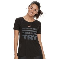 Juniors' Her Universe Star Wars 'There Is No Try' Graphic Tee
