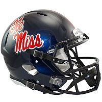 Riddell NCAA Ole Miss Rebels Speed Authentic Replica Helmet