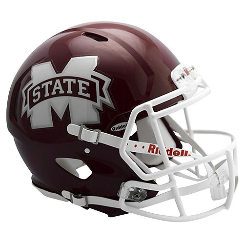 Riddell NCAA Mississippi State Bulldogs Speed Authentic Replica Helmet