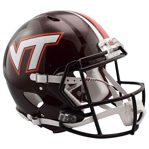 Riddell NCAA Virginia Tech Hokies Speed Authentic Replica Helmet