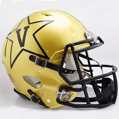 Riddell NCAA Vanderbilt Commodores Speed Authentic Replica Helmet