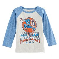 Toddler Boy Jumping Beans® Marvel Captain America Graphic Tee