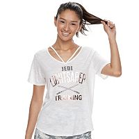 Juniors' Her Universe Star Wars Lightsaber Strappy Tee