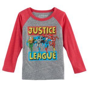 Toddler Boy Jumping Beans® DC Comics The Justice League Batman, Superman, The Flash & Aquaman Graphic Tee