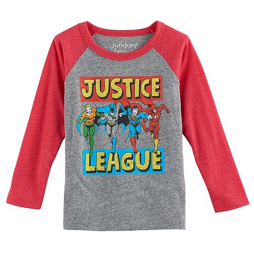 Justice League DC Comics Flash Logo Little Boys T-Shirt Tee