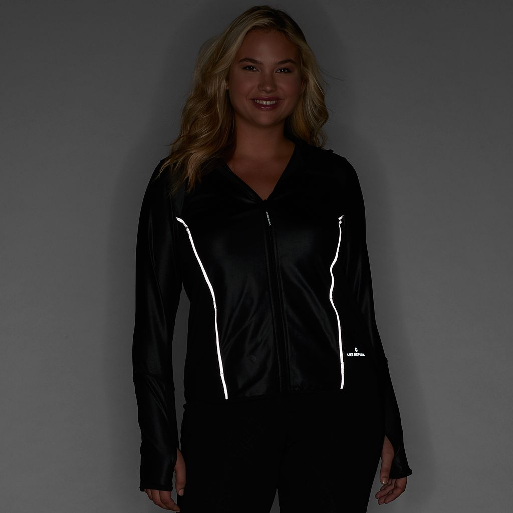 Juniors' Plus Size Her Universe Star Wars Graphic Performance Jacket
