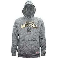 Men's Milwaukee Brewers Pullover Fleece Hoodie