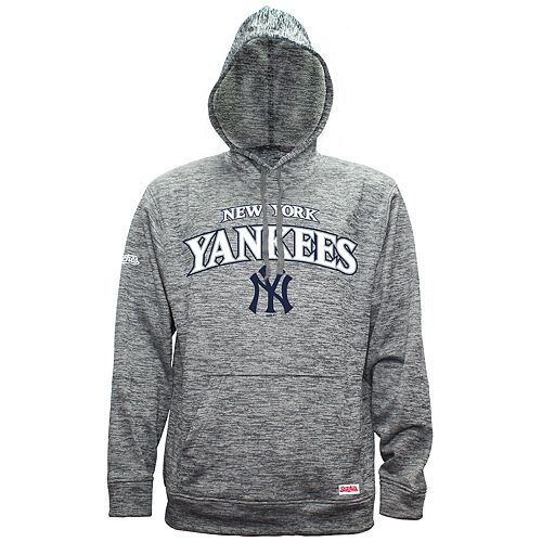 new style d5a12 b0295 Men's New York Yankees Pullover Fleece Hoodie