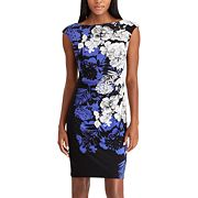 Women's Chaps Geometric Pattern Sheath Dress