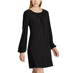 Women's Chaps Long Sleeve A-Line Dress