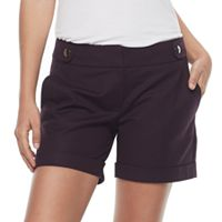 Women's Apt. 9® Cuffed Shorts