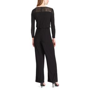 Women's Chaps Sequined Jersey Jumpsuit