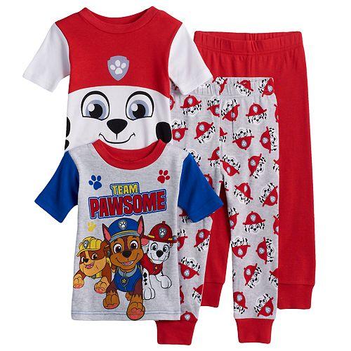 Toddler Boy Paw Patrol 4-pc. Marshall, Chase & Rubble Pajama Set