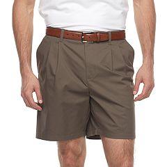 Big & Tall Croft & Barrow® Regular-Fit Easy-Care Stretch Pleated Shorts
