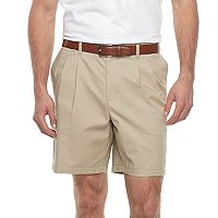 Big & Tall Croft & Barrow® Regular-Fit Easy-Care Stretch Pleated Shorts