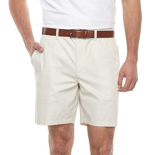 Big & Tall Croft & Barrow® Regular-Fit Easy-Care Stretch Flat-Front Shorts