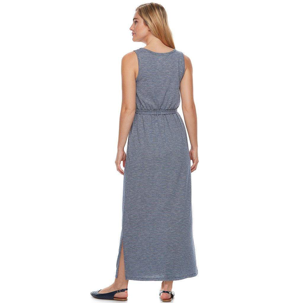 Women's SONOMA Goods for Life™ Slubbed Maxi Dress