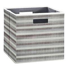 Bedroom Storage Bins & Baskets - Storage & Organization ...