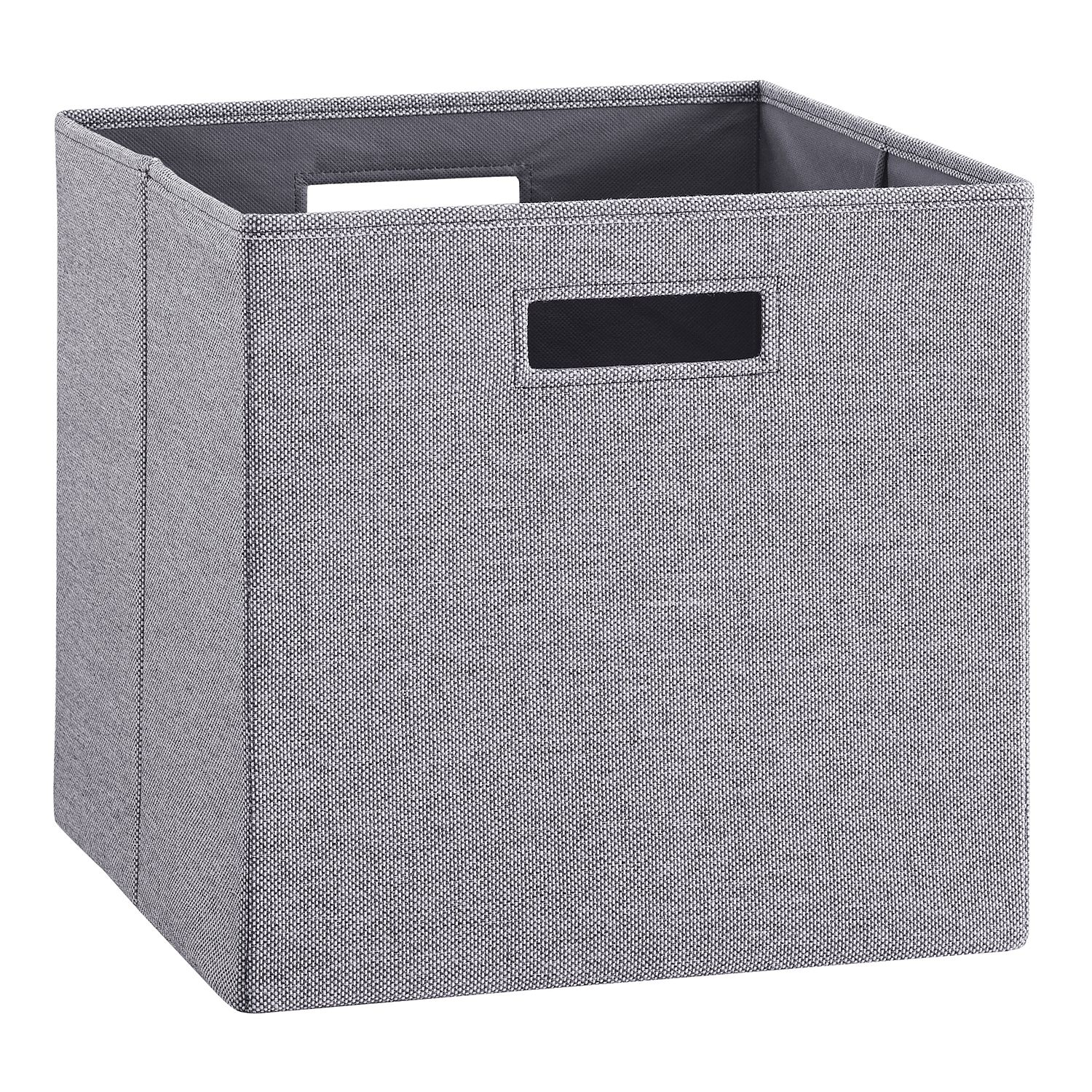 Folding Storage Bin  sc 1 st  Kohlu0027s & Grey Storage Bins u0026 Baskets | Kohlu0027s