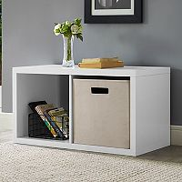 2-Cube Storage Cube Storage Unit