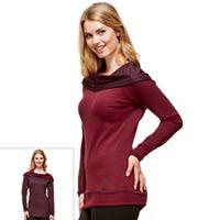 Women's Hottotties by Terramar Madison Reversible Long Sleeve Hoodie