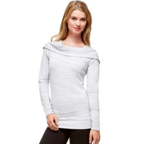 Women's Hottotties by Terramar Madison Reversible Long Sleeve Hoodie