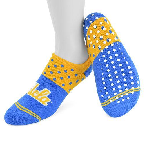 Women's Mojo UCLA Bruins Speckled No-Show Grip Socks