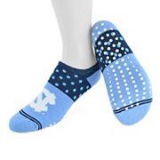Women's Mojo North Carolina Tar Heels Speckled No-Show Grip Socks
