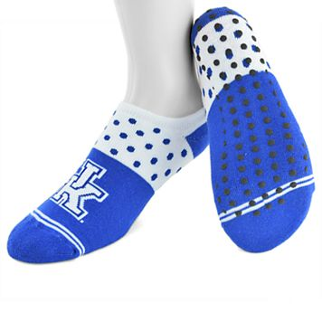 Women's Mojo Kentucky Wildcats Speckled No-Show Grip Socks
