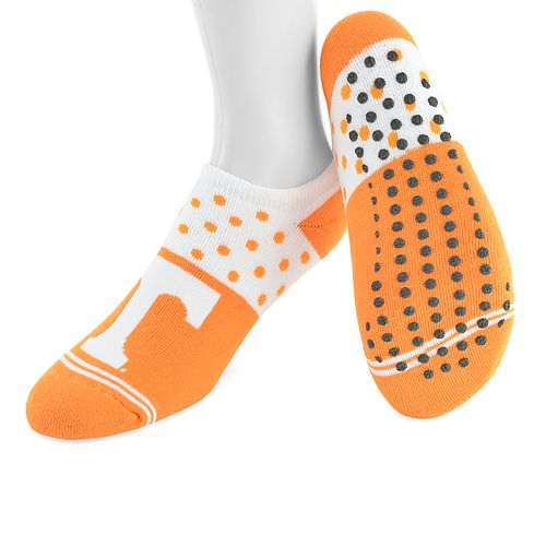 Women's Mojo Tennessee Volunteers Speckled No-Show Grip Socks