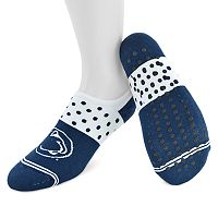 Women's Mojo Penn State Nittany Lions Speckled No-Show Grip Socks