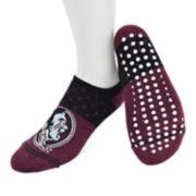 Women's Mojo Florida State Seminoles Speckled No-Show Grip Socks