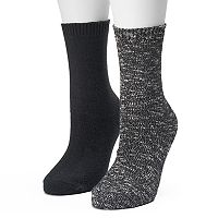 Women's SONOMA Goods for Life™ 2-pk. Marled Crew Socks